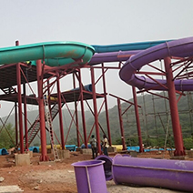 Enjoy the rides and slides at SplashWorld Water Park