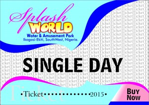 SplashWorld Single Day Ticket